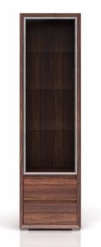 Úzka presklená vitrína Rodez 2 - ľavá