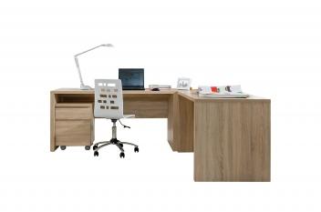 Rohový písací stôl Regiana 4