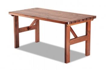 Záhradný stôl z masívu Timon