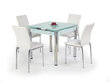 Jedálenský stôl Nestor 5 - mliečne sklo