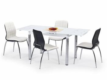 Jedálenský stôl Saverio 2 - biely