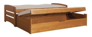 Detská posteľ s prístelkou Zachary