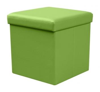 Taburet Elermo 6 - zelený