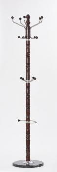 Drevený stojací vešiak Taras 2 - wenge