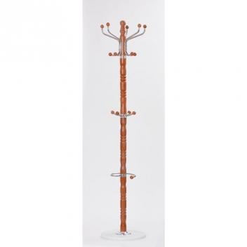 Drevený stojací vešiak Taras 3 - mahagón