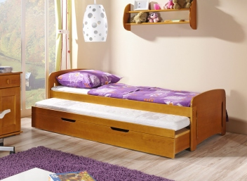 Jednolôžková posteľ s prístelkou Ismael