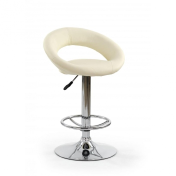 Čalúnená barová stolička Idra 1 - béžová