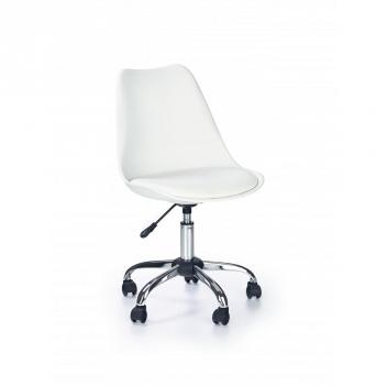 Detská otočná stolička Salie 2 - biela