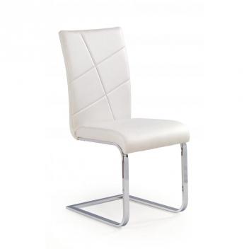 Biela jedálenská stolička Talora
