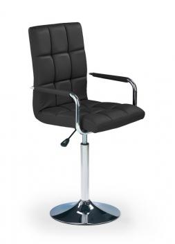 Detská otočná stolička Auriel 3 - čierna