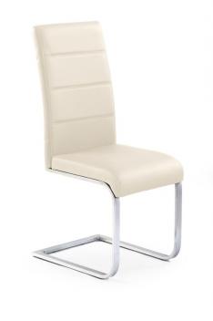 Jedálenská stolička Label 1 - krémová