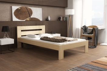 Jednolôžková posteľ Terila - masív