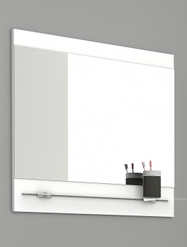 Kúpeľňové zrkadlo s policou Lorieta b