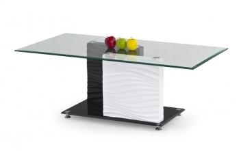Dvojfarebný konferenčný stolík Sidem