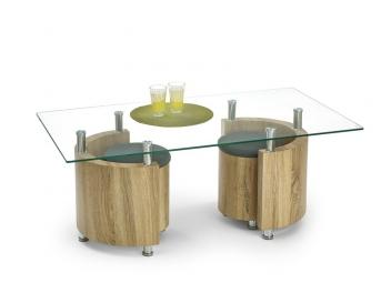 Konferenčný stolík s taburetmi Simao 1