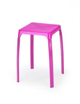 Taburet Rainan 3 - fialový