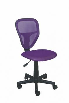 Detská otočná stolička Sukie 1 - fialová
