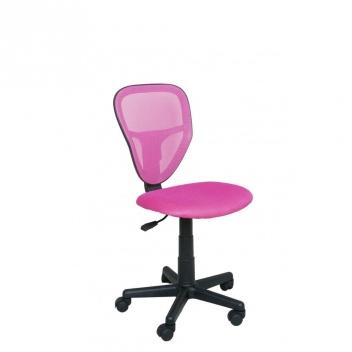 Detská otočná stolička Sukie 4 - ružová