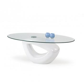 Konferenčný stolík Lieber 1 - biely