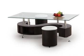 Konferenčný stolík s taburetmi Ronen 1