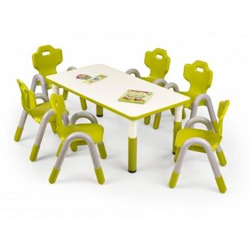 Detský stôl Marty - zelený