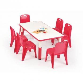 Detský stôl Marty - červený