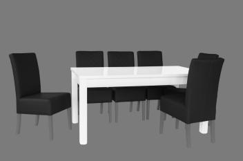 Rozkladací jedálenský stôl Lambert 2