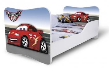 Detská posteľ pre chlapcov autíčko 2