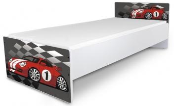 Jednolôžková detská posteľ Racing Car