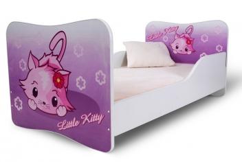 Detská dievčenská posteľ Kitty