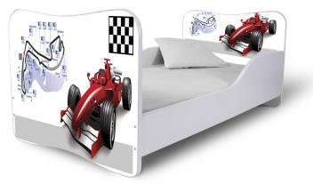 Detská jednolôžková posteľ Formula 1