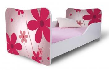 Detská posteľ Kvetiny