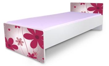 Jednolôžková posteľ Kvetiny