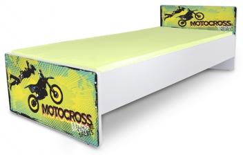 Posteľ pre mládež Motocrosss