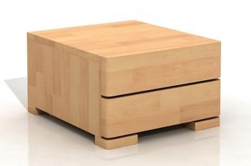 Nočný stolík z masívu buku Svea