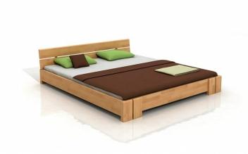 Manželská posteľ z bukového dreva Torkel