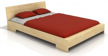 Borovicová posteľ s čelom Gurli