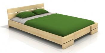 Masívna posteľ z borovice Leila